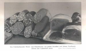 Wurstfabrikation
