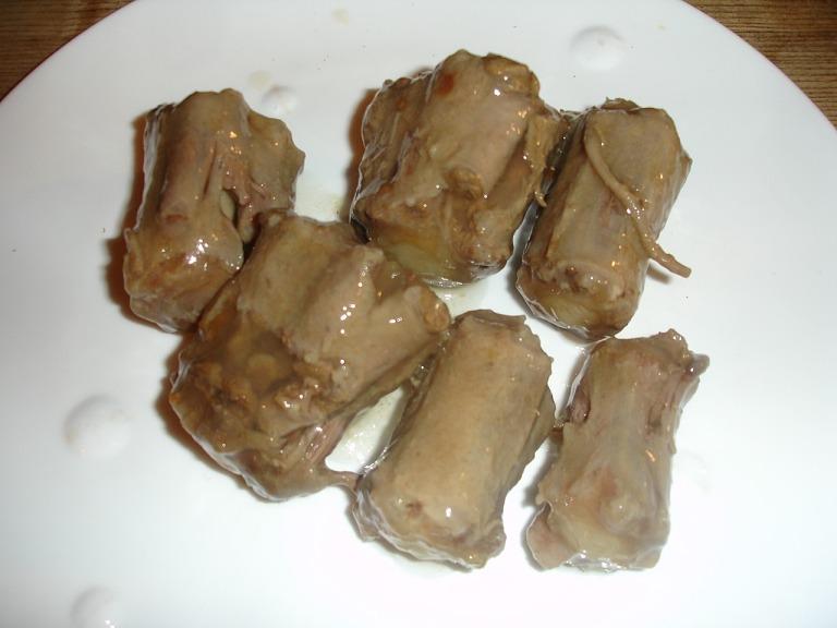 Ochsenschwanz gebacken