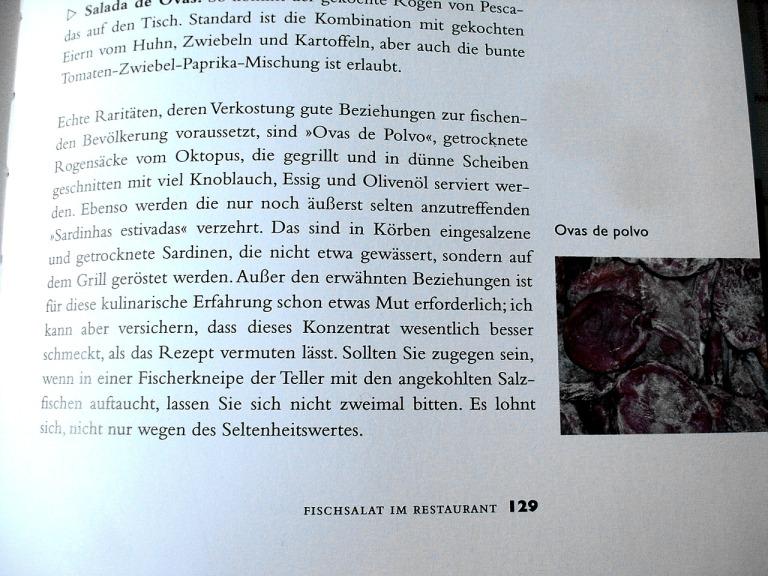 """Aus Nico Böer's """"Fische der Algarve. Ein kulinarischer Streifzug durch Markt und Küche"""""""
