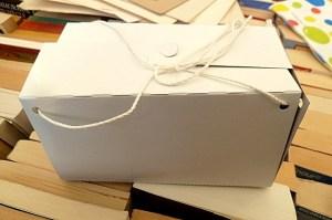 """Schöne Schachtel von """"Knapp & Wenig"""""""