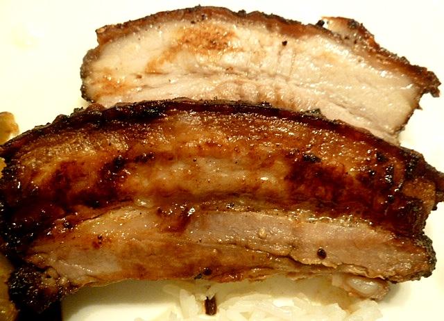 Schweinebauch mit fünf Gewürze Pulver