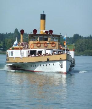 Ludwig Fessler, das Flaggschiff der Chiemseerundfahrt