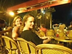 In der Bar bei Americano und Rosé