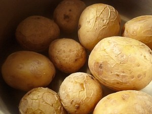Kartoffeln dämpfen