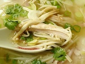 Sommerliche Suppe