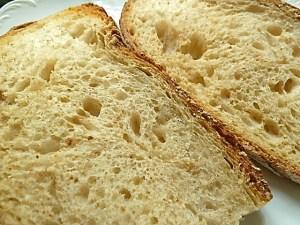 Brot leicht anrösten