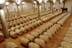 ein Gang durch den Weinkeller