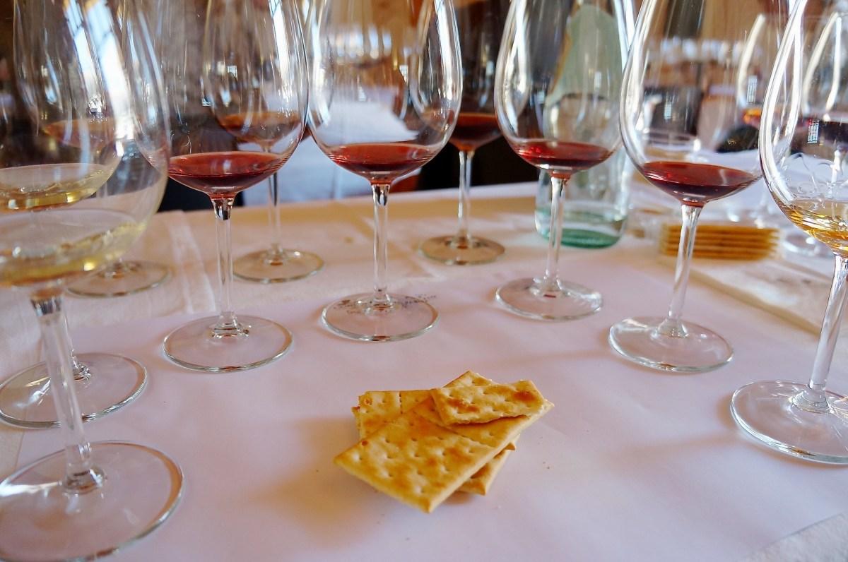 erst die Weinprobe