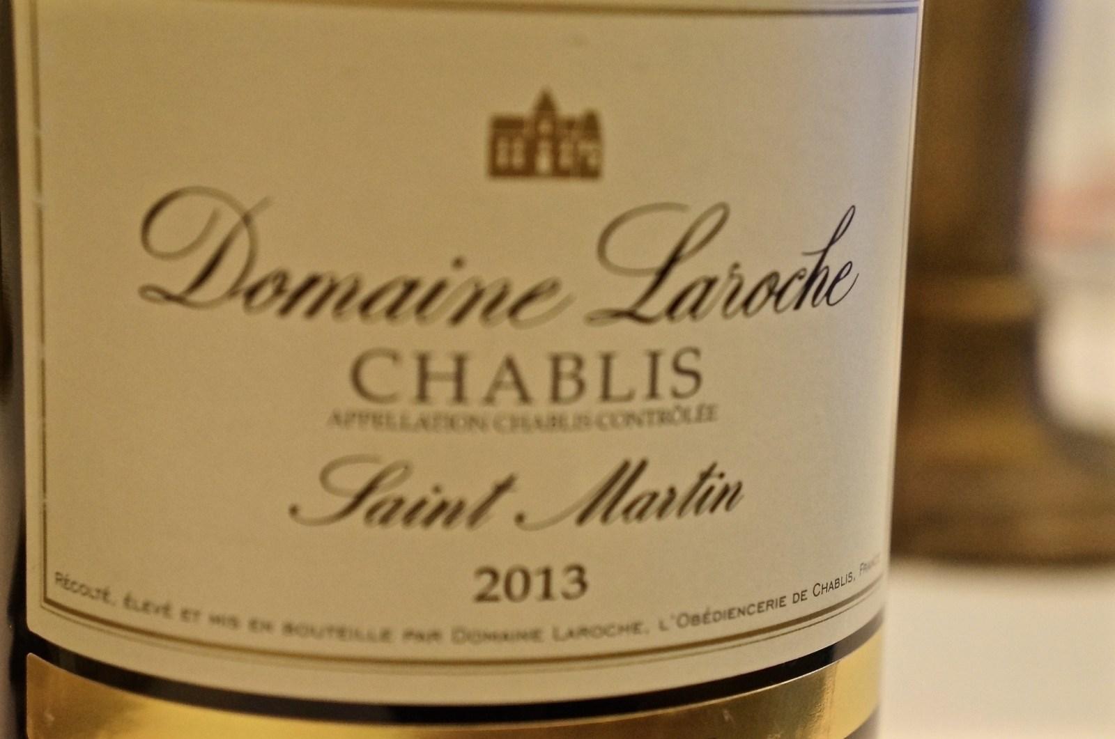 dazu: Chablis Saint-Martin Domaine Laroche 2013
