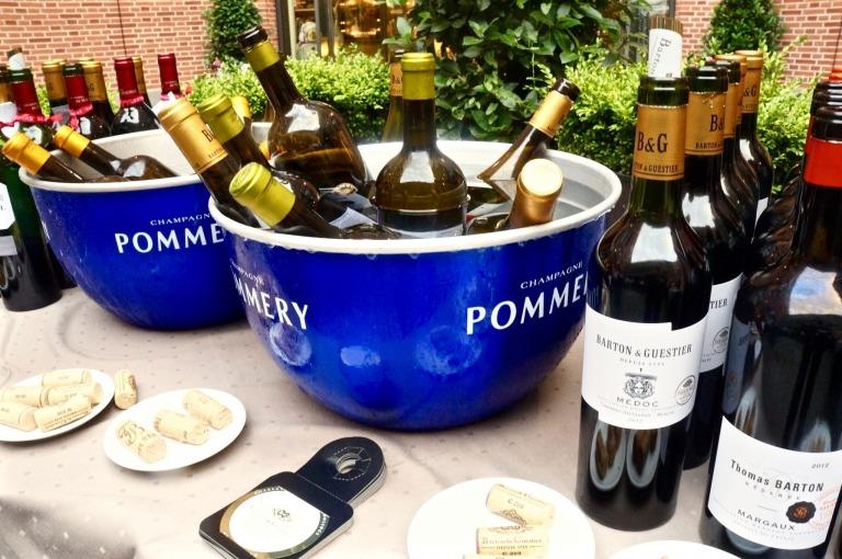 Wein-Degustation Barton & Guestier