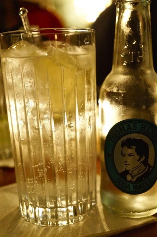 und noch ein Vodka Soda in der Bar