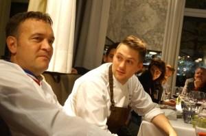 Emmanuel Renaut mit Anton Gschwendtner