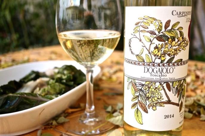 perfekt mit einem Glas Weißwein