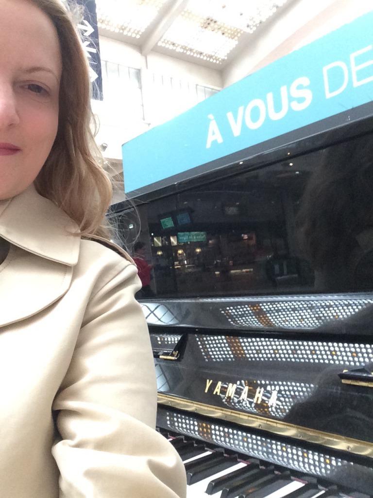 das letze Selfie vor der Abreise