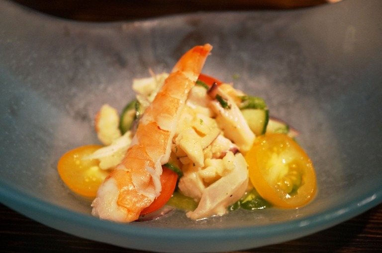 1. Gang - Seafood Ceviche