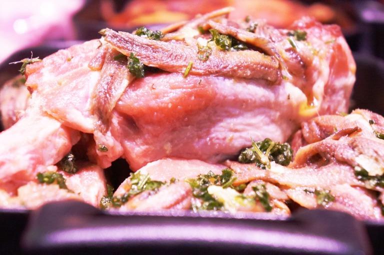 Kalbfleisch mit Sardellen