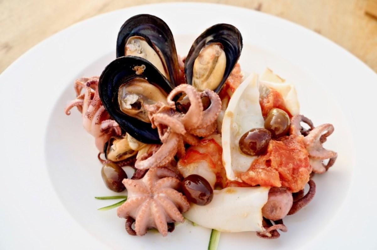 Meeresfrüchte als Vorspeise