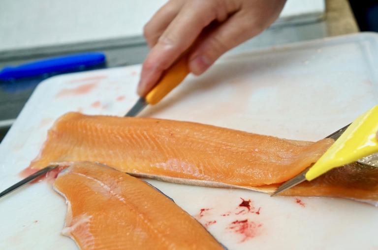 Filets für unser Sushi
