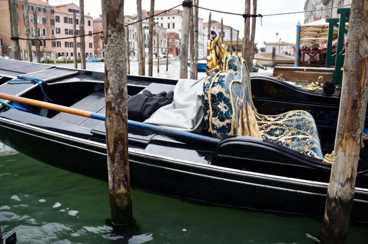 zurück in Venedig