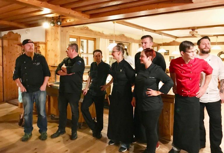 Gourmet-Menü im Waldschlössl