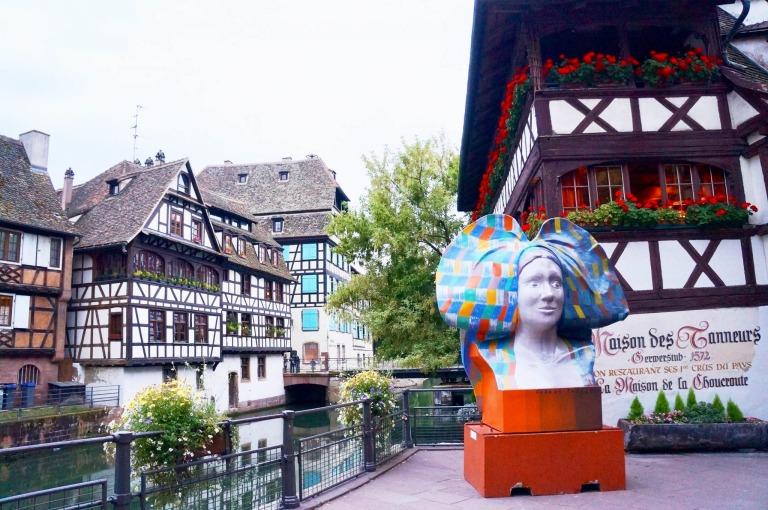 Traditionell essen gehen in Straßburg