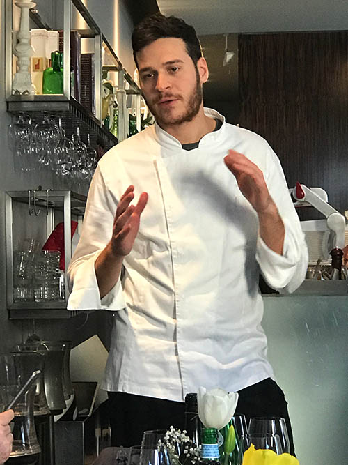 Küchenchef Francesco Vincenzi