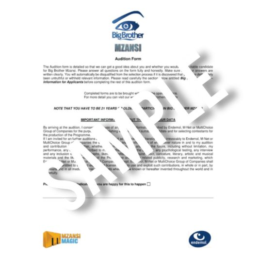 Big Brother Mzanzi Season 3 Online Audition Date, Application Form Portal   How To Register / Apply