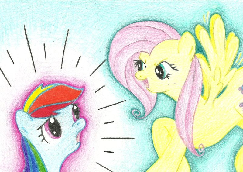 My Little Pony Fluttershy And Rainbow Dash Fanfiction