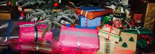 Geschenke unterm Tannenbaum