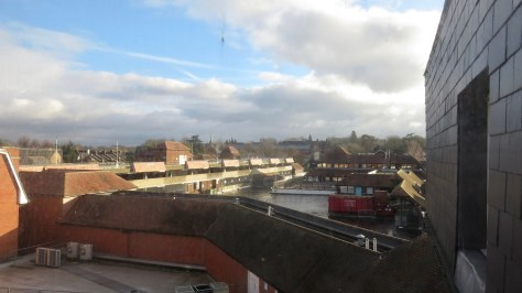 View from Travelodge window 2a