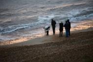 Group on beach 2