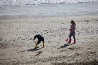 Children on beach 3