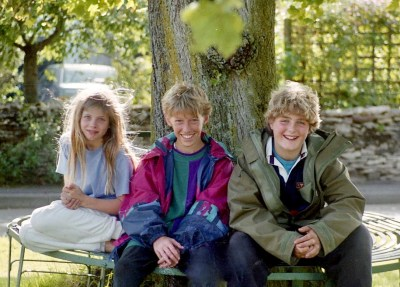 Louisa, Sam, and James 17.8.92 1