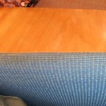 Frank Lloyd Wright Origami Chair / Upulsterd chair