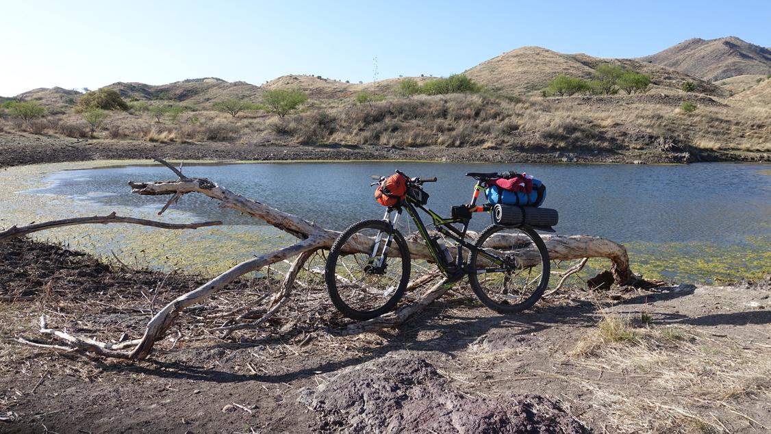 Mountain Bike on the AZT 300