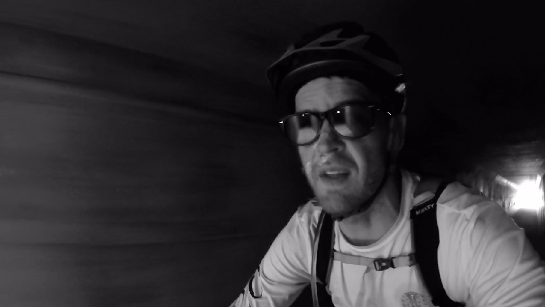 Derrick Perrin on bike