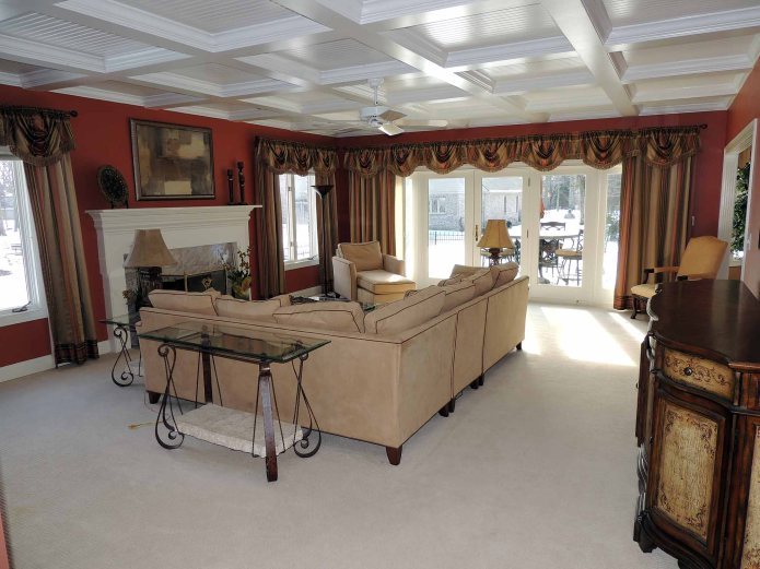 Good pictures show the outstanding features on this home in Oak Bend Estates in Avon.