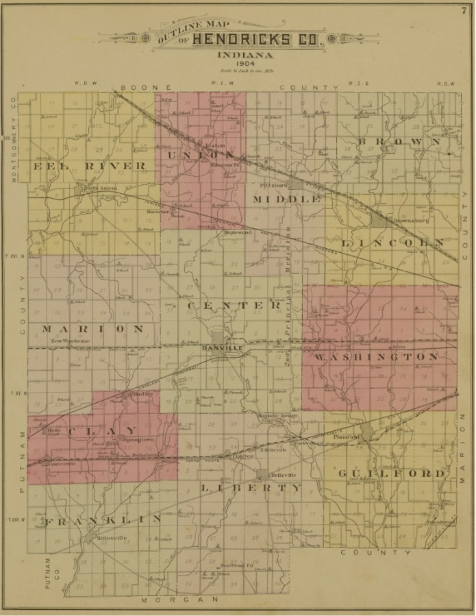 Hendricks County 1904