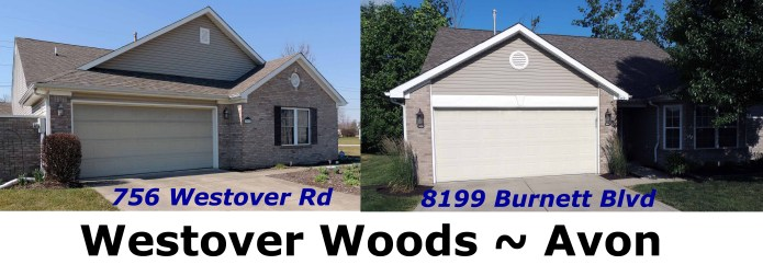 2 homes in Westover Woods