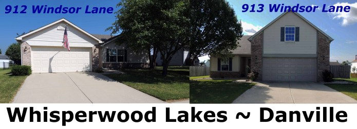 2 homes in Whisperwood Lakes