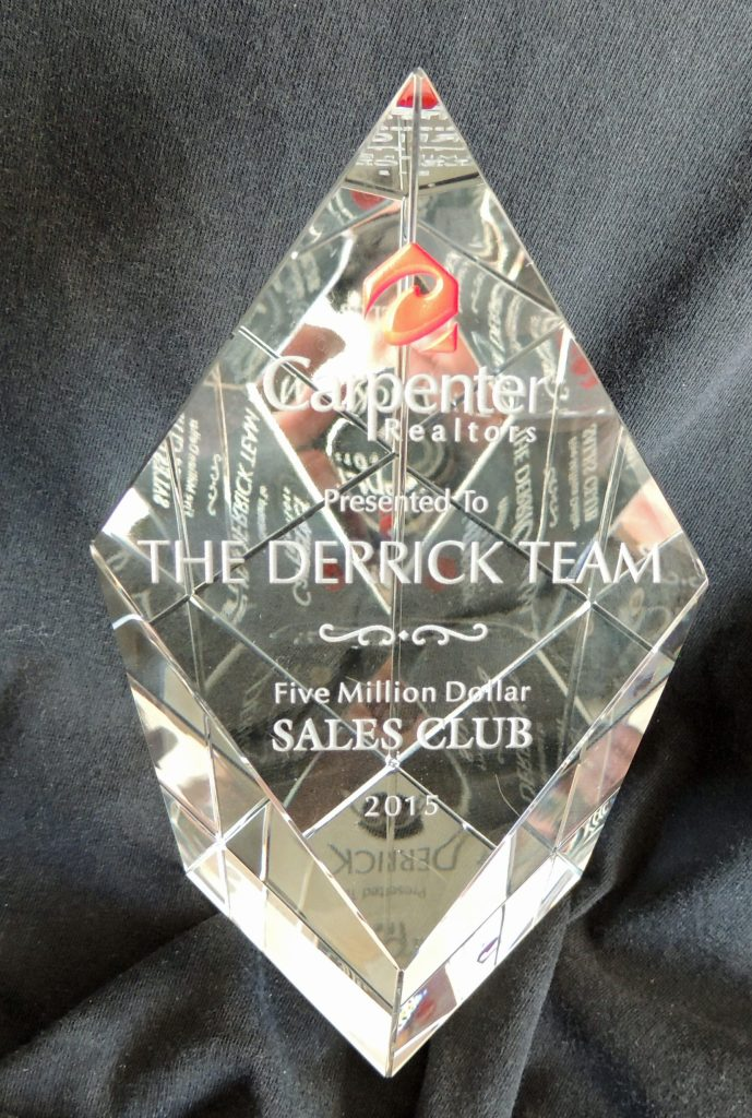 The Derrick Team 5 Million Sales Club