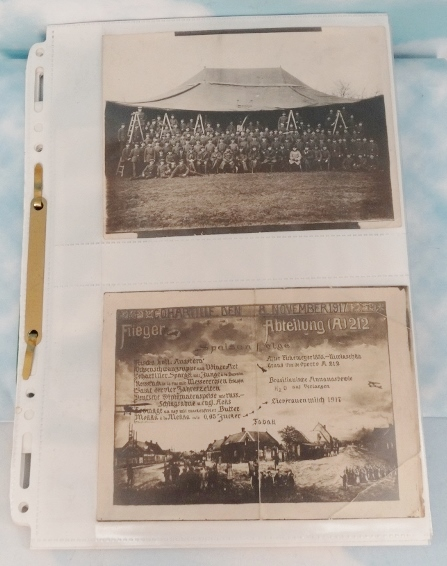 ORIGINAL AVIATION PHOTOGRAPHS FOLIO - Imperial German Military Antiques Sale