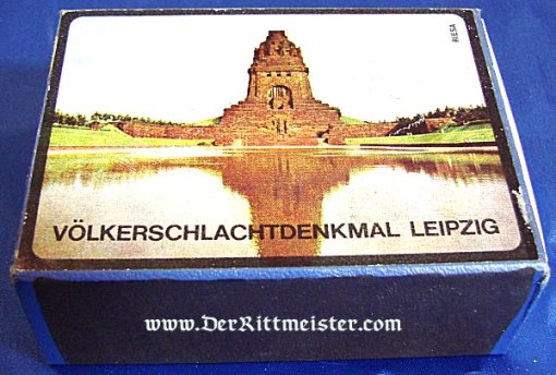GERMANY - BOX OF MATCHES - VÖLKERSCHLACHTDENKMAL - Imperial German Military Antiques Sale