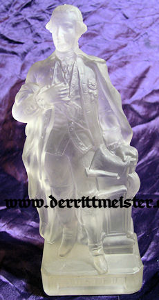 AUSTRIA - GLASS STATUE - KAISER JOSEF II - Imperial German Military Antiques Sale