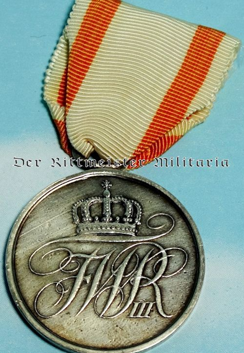 PRUSSIA -  EHRENZEICHEN MEDAL  - 2nd CLASS - Imperial German Military Antiques Sale