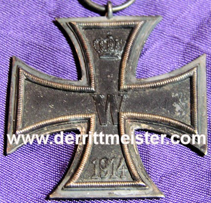 IRON CROSS - 1914 - 2nd CLASS - Imperial German Military Antiques Sale
