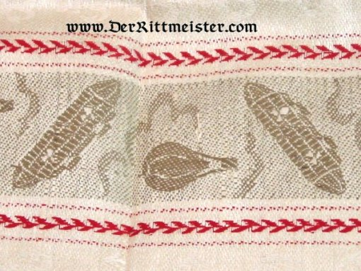 GERMANY - HAND TOWEL - ZEPPELIN GUEST - Imperial German Military Antiques Sale