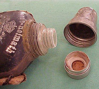 NAVY VETERAN FLASK - Imperial German Military Antiques Sale