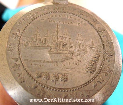 NAVY VETERAN'S STEIN - Imperial German Military Antiques Sale
