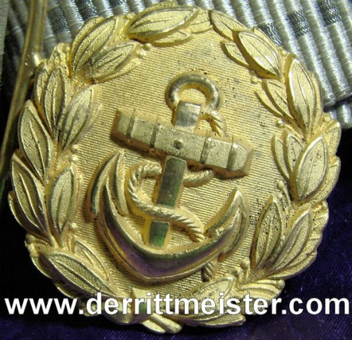 GERMANY - REICHSMARINE OFFICER - BROCADE BELT - BUCKLE - Imperial German Military Antiques Sale